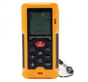 100 Laser Digital Distance Meter Volume Calculation Waterproof And Dustproof Manufactures