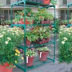 golden greenhouse shelf Manufactures