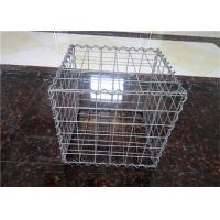 China Stone Cage Retaining Wall Gabion Baskets , Gabion Mesh Cage Easy To Install on sale