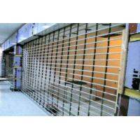 Wireless Remote Control Steel Security Shutters , Practical Commercial Roller Shutters Manufactures