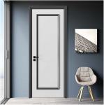 Simple Design Wooden House Doors / Custom Wood Interior Doors 1100mm Max Width Manufactures