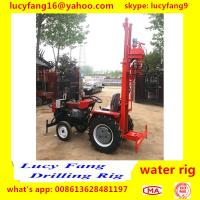 China Made Cheapest Tractor Mounted Water Well Drilling Rig For 50-70 Meters Depth Manufactures