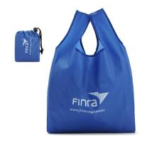 Washable Custom Tote Bags / 100 % Polyester Folding Shopping Bags Manufactures