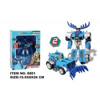 China Multi Color Children's Transformer Toys Manual Deformation Robot Model Car on sale