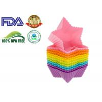 Eco Friendly Non-toxic Star Shaped Chocolate Silicone Molds Cake Decorating Manufactures