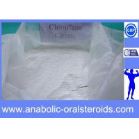 Buy cheap Antiestrogen Steroid Powders Clomid / Clomiphene Citrate CAS 50-41-9 for Pct Cycle from wholesalers