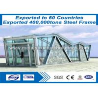 Light Weight Structural Steel Beam Building , Big Steel Buildings CE Mark Manufactures