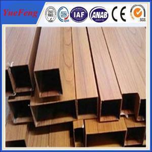 extrusion alloy 6063 aluminum pipe, aluminium square pipe fittings Manufactures