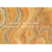 Strong Covering Power Marble Effect Film , Decorative Door Paper Film Non -