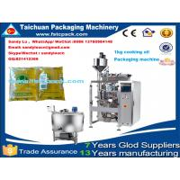 Automatic cooking oil packaging machine ,Hot sell vegetable oil packing machine Manufactures