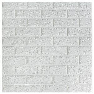 China Classic Brick Design Self Adhesive Wall Panels / Decorative Foam Board Wall Panel on sale