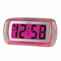 China foldable travel alarm table clock with bluelight ET630 on sale