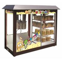 China POPCORN MACHINE WITH WARMING SHOWCASE on sale