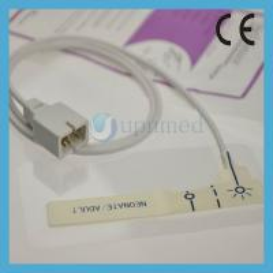Quality Nellcor Oximax Adult Disposable Spo2 sensor,9pin;Reusable Compatible Spo2 sensor for sale