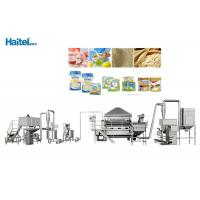 High Safety Factor Baby Food Processing Equipment Nutrition Rice Powder Manufactures