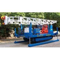 Construction Crawler drilling Rig With Two Reverse Speed Hydraulic Chuck Manufactures