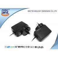 12V 6 W Wall Power Adapter , switching power adapter with AU 2 - pin AC Plug Manufactures