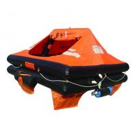 10Person Marine Inflatable Life Raft, Throw-over/Davit-launch/Self-righting life raft Manufactures