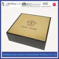 Golden Surface Rigid Gift Boxes Handmade Packaging Boxes Customized Design Manufactures
