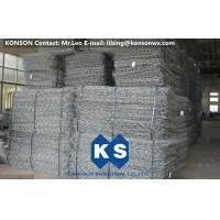 China Custom Galvanized Iron Wire Gabion Mattress , Hexagonal Wire Mesh Gabion Basket on sale