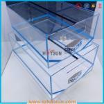 2016 acrylic sneaker box, acrylic shoe box, shoe storage box display rack Manufactures