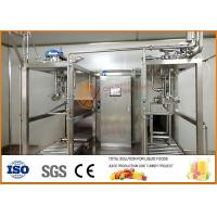 China SS304 Juice And Jam Double Heads Aseptic Filling Line on sale