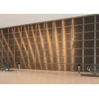 China Enhance Aesthetics Stainless Steel Decorative Panels High Electrical Conductivity on sale