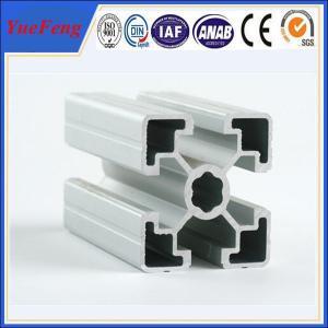 Hot! customized v-slot aluminum profile, aluminum industrial profile t-slot Manufactures