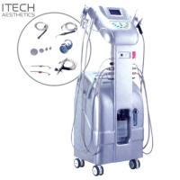 Anti - Wrinkle Vacuum Inject Spurt Oxygen Facial Machine G228A White Color Manufactures