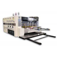 China Automatic Lead Edge Feeding Flexo Printer Slotter Die Cutter Corrugated Boxes Usage on sale