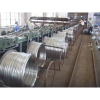 8 9 10 Hot Dipped Galvanized Wire , Galvanized Binding Wire For Highway Barriers Manufactures