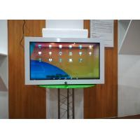 32 Inch Transparent Lcd Display Commodity Displaying Cabinet Case One Sided Manufactures