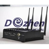China Adjustable Desktop Mobile Phone ,WiFi Jammer with Remote Control on sale