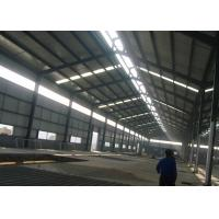 Industrial Steel Structure Plant , Insulated Steel Structure Factory Manufactures