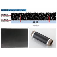 High Purity Carbon Coated Aluminum Foil 100 - 8000 Meter Roll Length Manufactures
