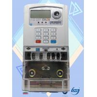 China Low Voltage Prepaid Electricity Meters , Sts Digital Electric Meter Safety on sale