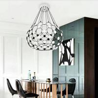 Modern LED hanging ceiling pendant lights Mesh Suspension Luceplan for hotel Manufactures