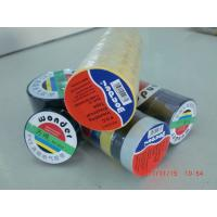 Glossy Rubber Based Adhesive PVC Electrical Tape Black / Red / Green Shiny Film Manufactures