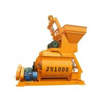 1 Cubic Meter Large Capacity Concrete Mixer Machine 37kw Mixing Motor Power Manufactures
