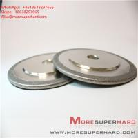 Electroplated diamond CBN grinding wheel can be used for surface grinding, internal grinding Alisa@moresuperhard.com Manufactures