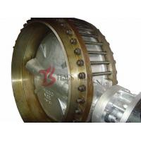 A216 WCB Wafer Gear Operated Butterfly Valve Class 150LB With Counter Flanges Manufactures