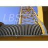 Overhead Transmission Hoisting Tower Crane Winch High Strength Steel for sale