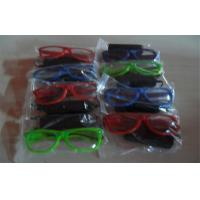 Colorfull Half Frame El Glowing Wire Light Up Sunglasses Powered By 2*AA Battery Manufactures