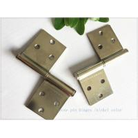 """Bright Color 3"""" Brass Lift Off Hinges Zinc Plated Metal Material  1.0mm Thickness Manufactures"""