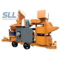 China Customized Color Portable Shotcrete Machine With Cement Mixer / Hose Pump on sale