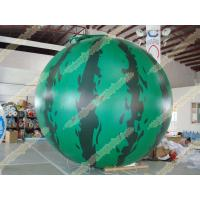 Quality Inflatable product balloon, 4m Watermelon 0.28mm helium quality PVC Advertising for sale