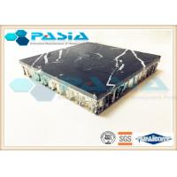 High Strength Aluminium Honeycomb Sheet , Thin Marble Veneer Panels For Shipbuilding