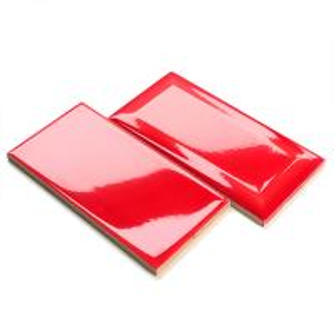 Acid Resistant Colorful Kitchen Wall Tiles Red Subway Tile Kitchen Backsplash Manufactures