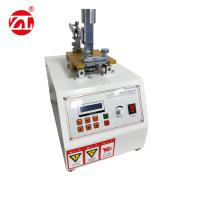 Motor Drive Leather Friction Color Fastness Tester To Dry , Wet And Friction Manufactures