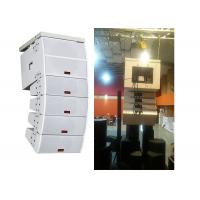 Powered Concert Sound System Two-way Double  RMS Line Array speakers Manufactures
